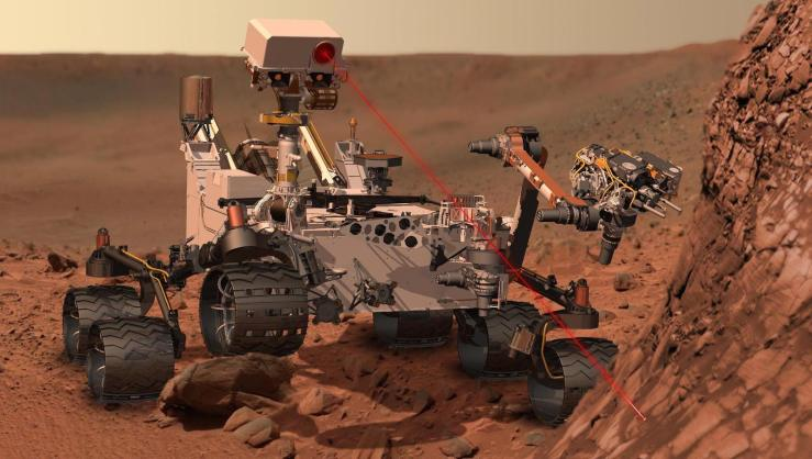 Mars rover simulation: Out of this world. (NASA Goddard Space Flight Center/ Creative Commons) – link to my source