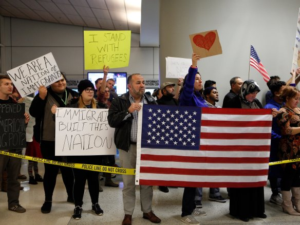 airportprotesters