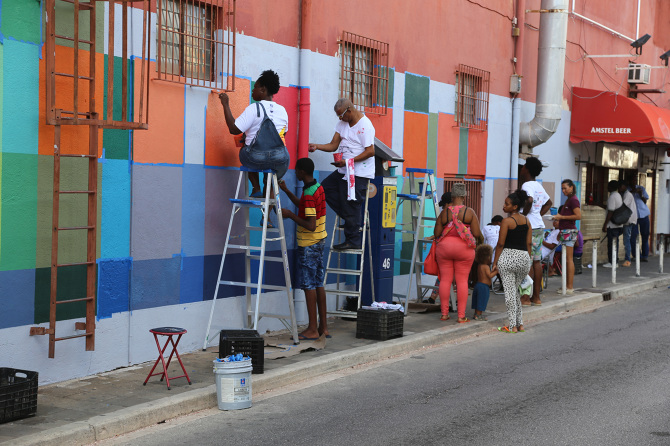 Favela Painting Academy, founded in 2016